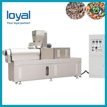Stainless Steel Breakfast Cereals / Corn Flakes Making Machine for Cereal Snacks