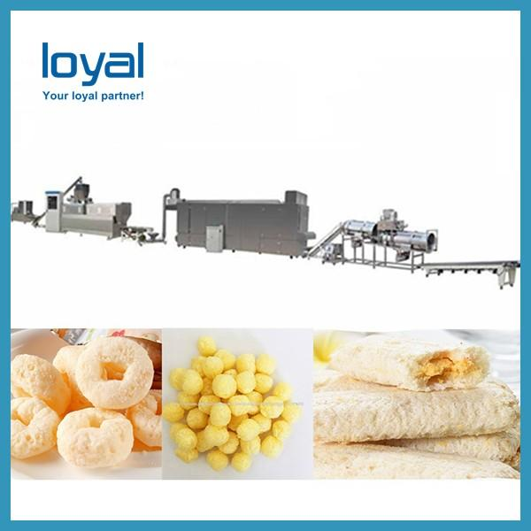 Cheese balls plant sticks production bread chips processing line #1 image