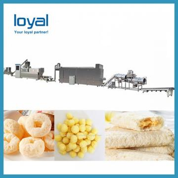 Bread pan corn puff food making machine /production line with CE Certificated