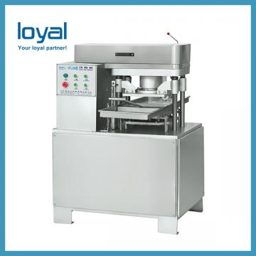 Two Lanes Ice Cream Sandwich Biscuit Making Machine With Flow Packing Machine