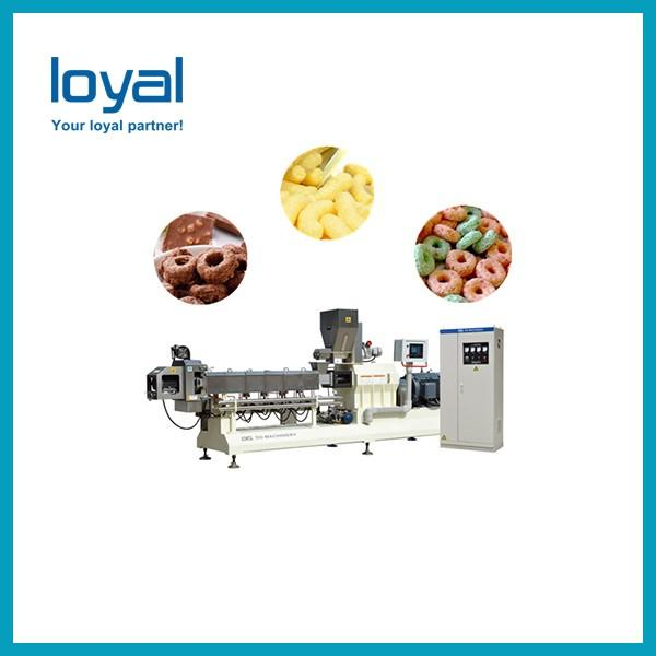 Stainless Steel Breakfast Cereals / Corn Flakes Making Machine for Cereal Snacks #3 image