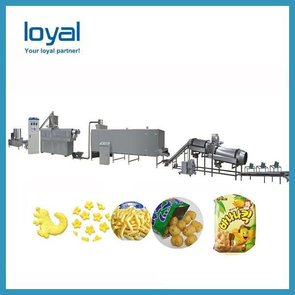 Cheese balls plant sticks production bread chips processing line #3 image