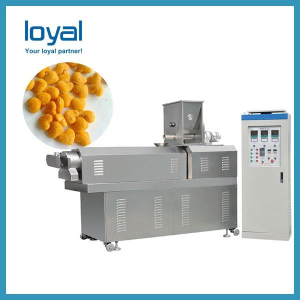Cheese balls plant sticks production bread chips processing line #2 image