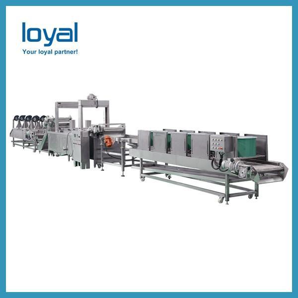 180KG/H Crisp Automatic Potato Chips Production Line Frozen French Fries Potato Chips Machines #2 image